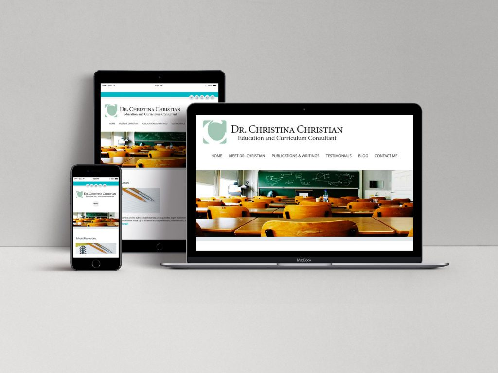 Website for Dr. Christina Christian